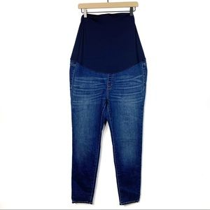 J. Crew Over The Belly Maternity Skinny Jeans 32